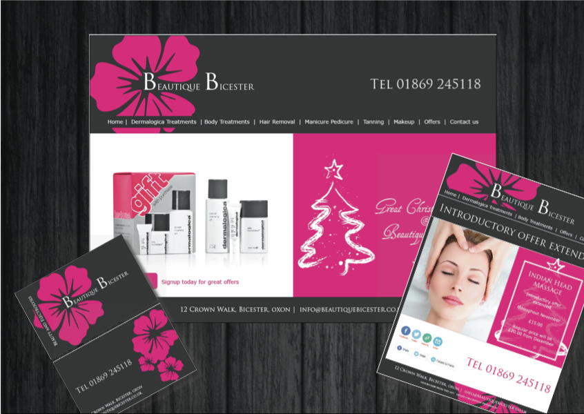 Full Design branding and Web Design.